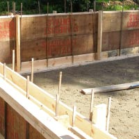 Concrete form rentals at Sharecost Rentals in central Nanaimo