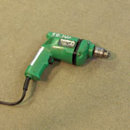 "For Rent: Drill, 3/8"" chuck, electric"