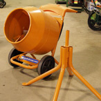 For Rent: Electric Cement Mixer
