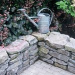 Mini Basalt garden wall