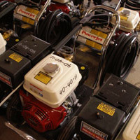 Pressure washer rentals at Sharecost Rentals in Nanaimo, BC