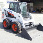 For Rent: Bobcat S-150 Skid Steer Loader (with cab)