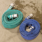 "For Rent: Water Pump Discharge Hose, 2"" x 50-foot"