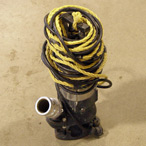 "For Rent: Water Pump, 2"" Submersible (trash)"