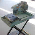 "For Rent: Tile Saw, 10"" with stand"