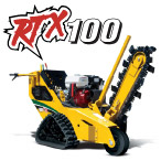 For Rent: Trencher, RTX100 ( tracked unit)
