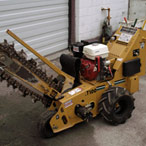 For Rent: Trencher, RT100 (wheeled unit)