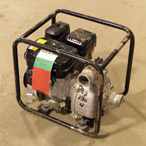 "For Rent: Water Pump, 2"" Volume (gas)"