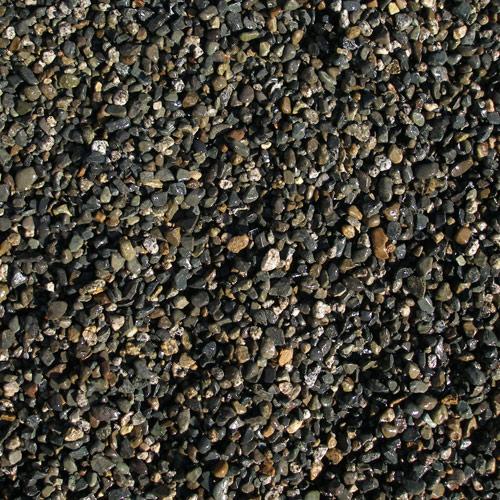 Pea gravel aggregate pavers